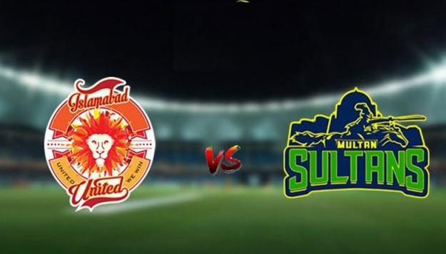 Multan sultan vs islamabad united Live score psl 6