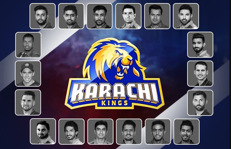 Karachi Kings Squad