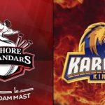 KK vs LQ live score